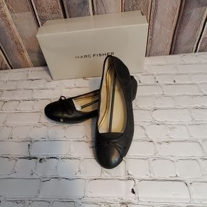 BNIB MARC FISHER LEATHER BALLET FLATS SIZE 9.5